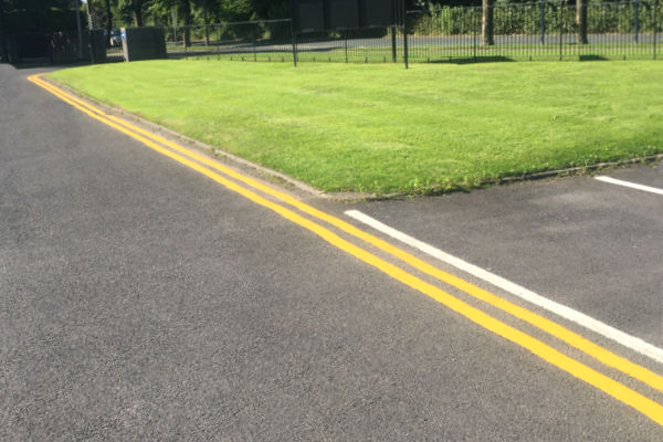Line marking Penkridge
