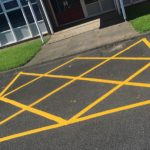 Caldmore Car Park Marking Contractor